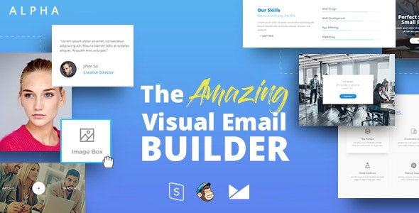 ALPHA - Responsive Email + StampReady Builder - Email Templates Marketing