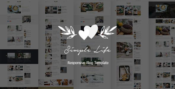 Simple Life - Responsive Blog Template
