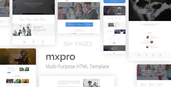 Mxpro - MultiPurpose HTML5 Template - Business Corporate