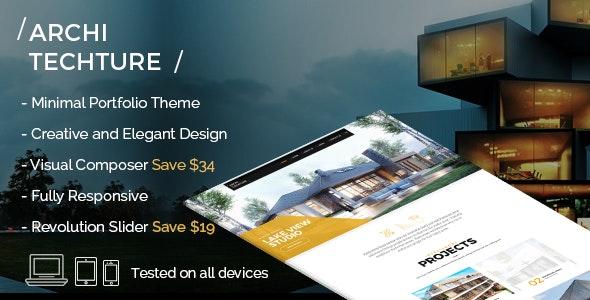Portfolio, Creative, Theme - Architecture - Creative WordPress