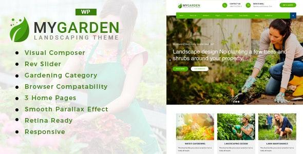 My Garden - Gardening WordPress Theme - Business Corporate