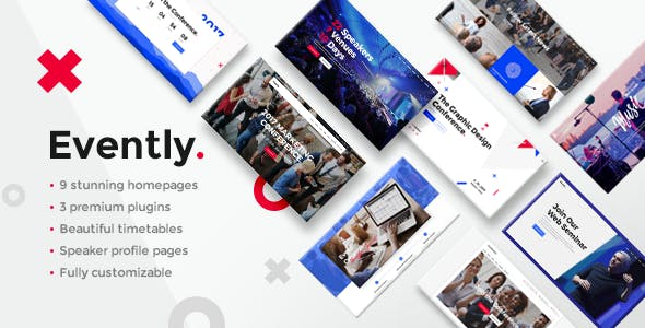 Evently - Conference & Meetup Theme