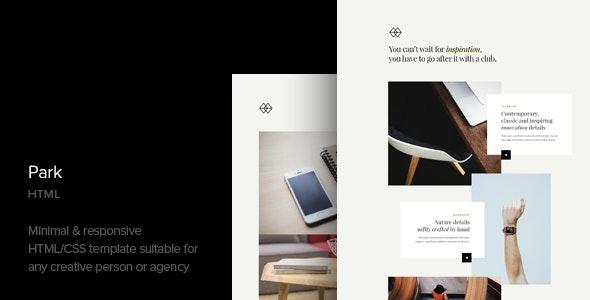 Park - Creative Portfolio HTML Template - Portfolio Creative