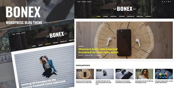 Bonex - Responsive Blog WordPress Theme - Blog / Magazine WordPress
