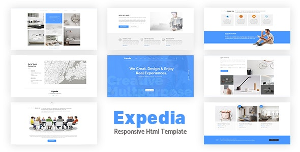 Expedia - Multipurpose Responsive Bootstrap Template - Corporate Site Templates