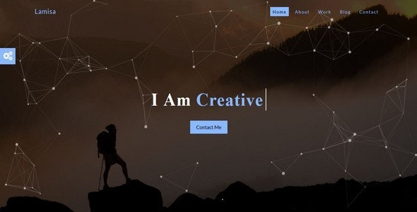 Lamisa-Personal/Portfolio HTML5 Bootstrap Template - Personal Site Templates