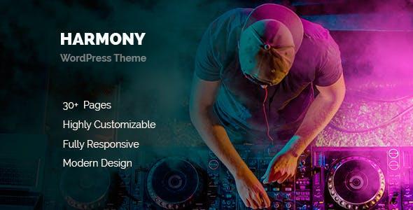 Harmony Music WordPress
