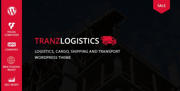 Tranzlogistics - Logistics & Cargo Shipping WordPress Theme - Business Corporate