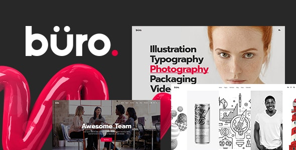 Büro - Creative Agency and Freelancer Theme - Portfolio Creative