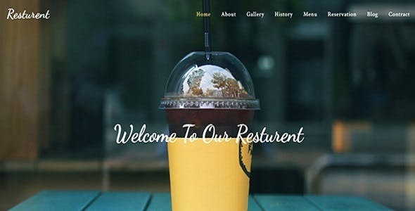 Resturant Html Template