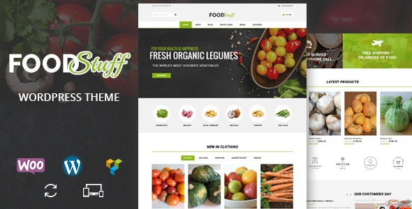 Food Stuff - Multipurpose WooCommerce Theme - WooCommerce eCommerce