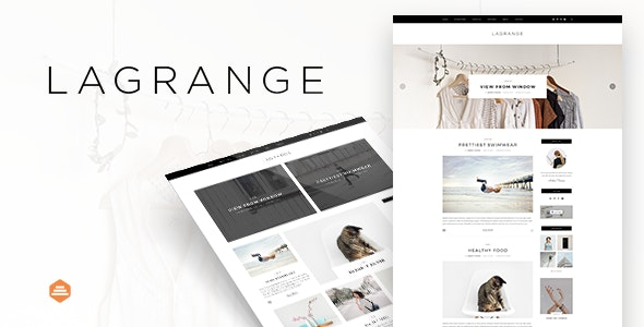 LaGrange - Blog PSD Template - Personal Photoshop