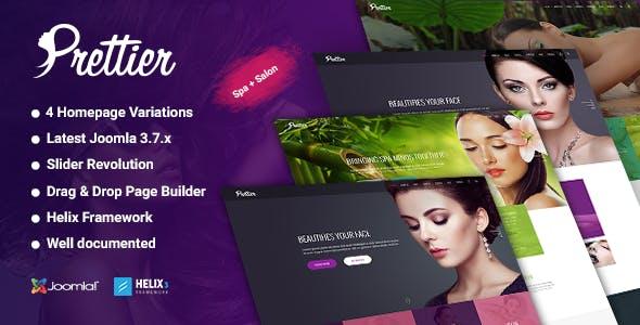 Prettier - Beauty Salon & Spa Joomla Template
