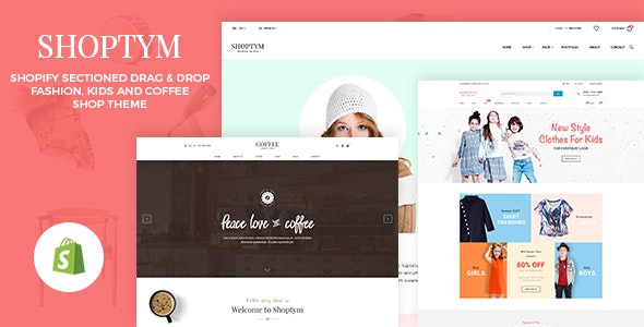 Shoptym - Multipurpose Responsive Shopify Theme with Section Drag & Drop - Shopify eCommerce