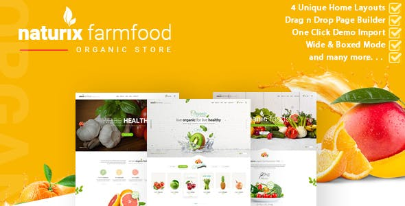Organic Store Ecommerce Website
