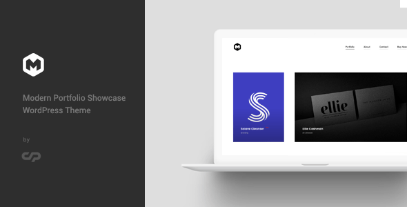Maestro - Modern Portfolio Showcase WordPress Theme