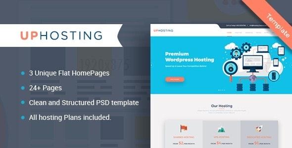 UpHosting – Multipurpose HTML Template - Hosting Technology