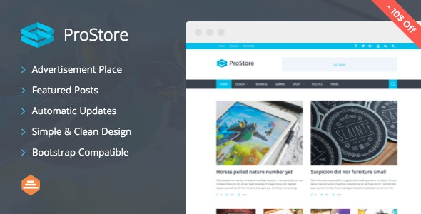 ProStore - Modern Magazine WordPress Theme - Blog / Magazine WordPress