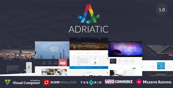 Adriatic | Responsive Multi-Purpose Theme - Business Corporate