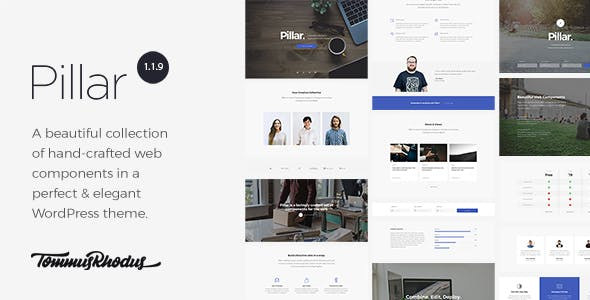 Pillar - Multipurpose Multi-Concept Responsive WordPress Theme