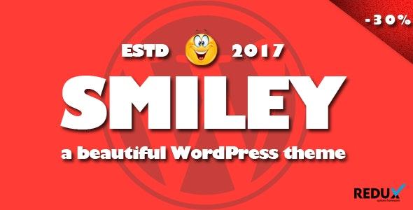 Smiley - Viral WordPress Blog Magazine Theme - Personal Blog / Magazine