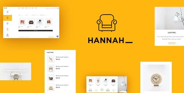 Leo Hannah Premium Prestashop Furniture store Theme