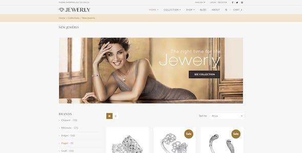 Jewelry - Responsive Opencart 2.3 $ 3.x Theme