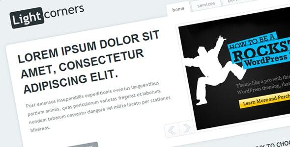 LIGHTcorners - Corporate Site Templates
