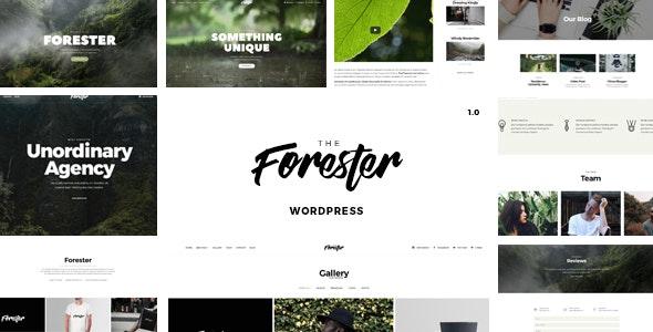 Elementor Portfolio Theme - The Forester - Portfolio Creative