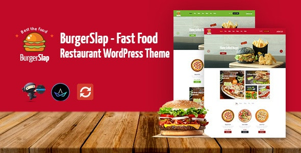 Burger Slap - Fast Food Restaurant WordPress Theme - WooCommerce eCommerce
