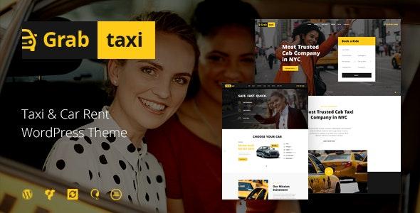 Grab Taxi | Online Taxi Service WordPress Theme