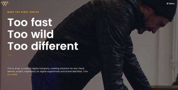 Wrap - Multi-Purpose WordPress Theme - Corporate WordPress