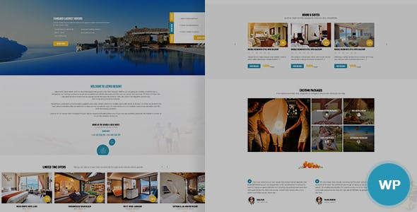 Leevio - Resort & Hotel WordPress Theme