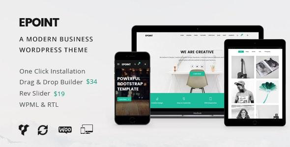 Epoint | Multipurpose WordPress Theme - Business Corporate