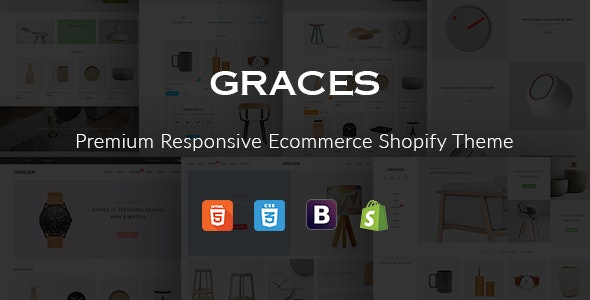 Fastest Graces –  Responsive Ecommerce Shopify Template With Section Drag & Drop - Shopify eCommerce