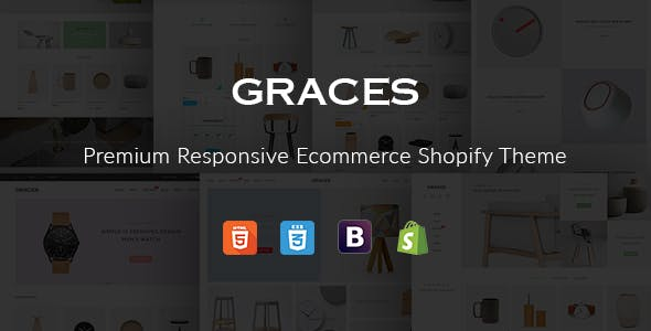 Fastest Graces –  Responsive Ecommerce Shopify Template With Section Drag & Drop