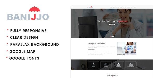 Banijjo - Business HTML 5 Template - Business Corporate