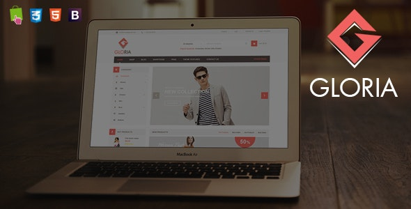Gloria - Minimalist Fashion Responsive PrestaShop Theme - Shopping PrestaShop