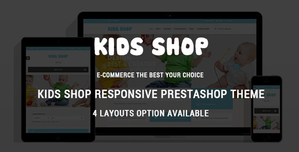 Kids Shop - Baby Mart Responsive PrestaShop Theme - Shopping PrestaShop