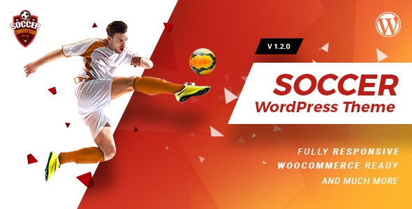 Soccerclub | Sports Club WordPress Theme - Nonprofit WordPress