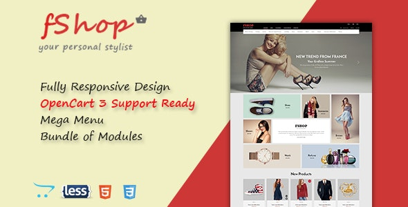 fShop - Advanced Multipurpose Responsive OpenCart 3 Theme - OpenCart eCommerce