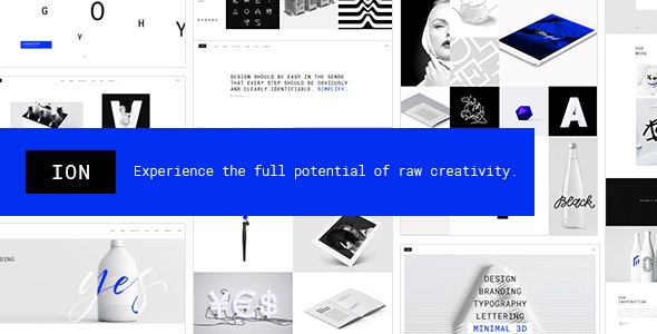Ion - Creative Portfolio Theme - Portfolio Creative