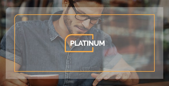Platinum - One Page PSD Business Template - Business Corporate