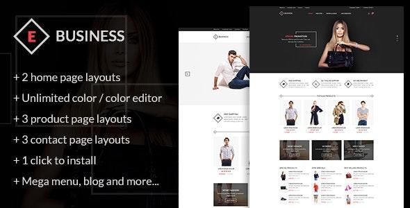 E-Business - All in one package Prestashop theme - Fashion PrestaShop