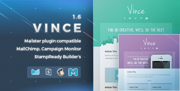 Vince | Responsive Email Template