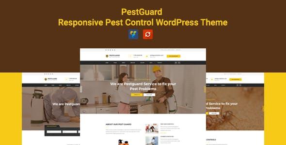 PestGuard - Responsive Pestcontrol WordPress Theme