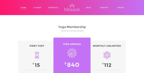 Blossom a Health and Meditation Yoga Sketch Template