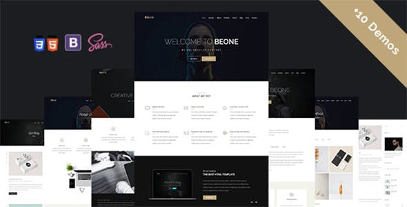 Béone - Creative Multi-Purpose Template
