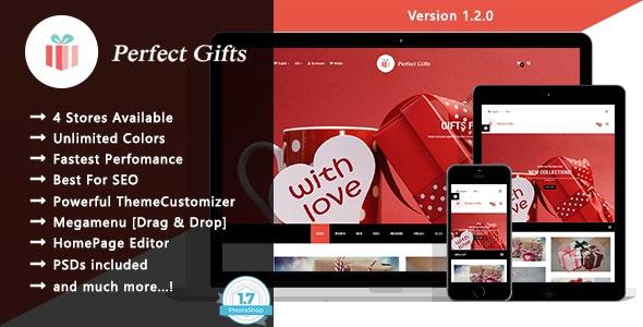 Perfect Gifts - Responsive Prestashop 1.7 Theme - Fashion PrestaShop