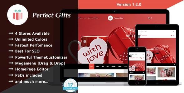 Perfect Gifts - Responsive Prestashop 1.7 Theme